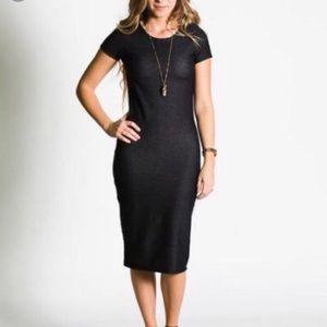 LuLaRoe Solid Black Julia Dress